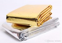 Wholesale hot sell Disaster Response Tools outdoor Insulation Blanket Emergency Survival Rescue Blanket Foil Thermal