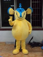 armed ad - 2016 hot sale Mascot Lovely Blue Yellow Seahorse Hippocampus Mascot Costume With Yellow Belly Short Arms Legs Long Volume Tail Ad