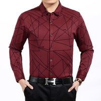 argyle boy - New Hot Good Selling Boys Men Casual Fashion Slim Printed Long sleeved Cotton Business Shirt Tops