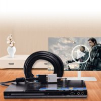 Wholesale Vention HDMI to VGA Adapter Converter Cable Male to Female Audio USB Port Power for Project DVD VCD Computer HDMI VGA converter
