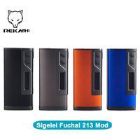 battery calculations - Original Sigelei Fuchai Mod Fuchai W TC Box Mod W Celsius based TCR calculation Dual battery VS ecig Sigelei Snowwolf