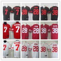 Wholesale NEW Jarryd Hayne Colin Kaepernick Carlos Hyde ers Jerseys Cheap discount football jerseys Custom Elite Embroidery High Quality