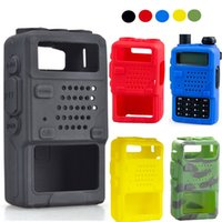 Wholesale Protective Soft Case Silicone Handheld Cover Holster for Baofeng Two Way Mobile Radio UV5R RA RB RC RD TYT THF8