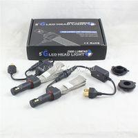 Wholesale H1 H7 H4 H11 LED headlight cree W lm H7 H4 H1 LED car headlight fanless LED head lamp