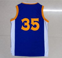 Wholesale Blue Basketball Jersey Yellow White Men s Basketball Uniforms Discount Cheap Basketball Jerseys Stitched Name and Number