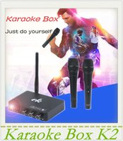 Wholesale Karaoke mixer k2 Karaoke Echo Mixer Karaoke machines system Sing a song from your android tv pc computer and table