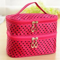 Wholesale Women Makeup Case Multifunction Organizer Zipper Fashion Organizer Fashion Casual Fit Sexy Chic Stylish handBag women