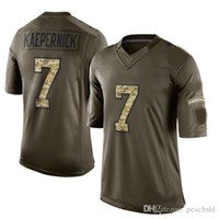 america services - 2016 New Arrivals Mens America Football Jerseys ers Kaepernick Green Salute To Service Limited Jersey