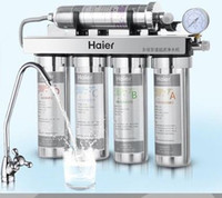Wholesale water purifier household five straight drinking water filter ultrafiltration kitchen stainless steel water purifier
