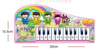 Wholesale Baby music on drum flower small infants early childhood educational toy piano piano male girl to years old