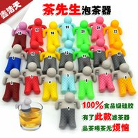 Wholesale Mr Tea Fred Infuser Lovely Villain Teapot Tea Lazy Person Strainers DHL xh