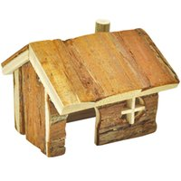 Wholesale Log Cabin for Hamsters Gerbils Mice and Other Small Animals