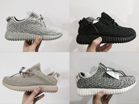 Wholesale Mens Moonrock Oxford Tan Pirate Black Turtle Dove Women s Boosts Sneakers High Quality kanye West Shoes Drop Shipping