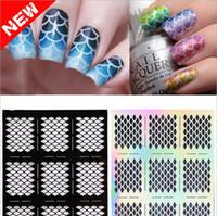 Wholesale 2016 New Nail Art Stencil Vinyls Print Sticker Nail Art Stickers Nail Stencils Nail Tools Tips Sheet