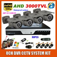 best video security system - New Best HD CH P CCTV System Kit AHD TVL Waterproof Outdoor Bullet Video Surveillance MP Security Camera DVR System