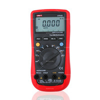 auto values - UNI T UT61E Digital Multimeter auto range true RMS Peak value RS232 REL AC DC amperemeter uni t UT E multimeter