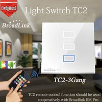 automation relay - Broadlink TC2 Gang Switch Relay Wireless Remote Control Network Wifi Wall Light Touch Switch MHZ Smart Home Automation