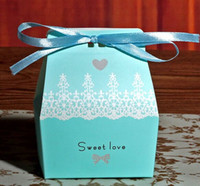 Wholesale Wedding Sweet Candy Boxes Packaging Box Creative Wedding Supplies Colors For Option Casamento