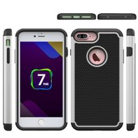 active combo - Football Pattern Rugged ballistic Impact Armor Combo PC silicone Case cover For Iphone plus Samsung Galaxy note GALAXY S7 ACTIVE J7