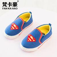 batman shoes for men - Baby Superman Shoes Children in the Fashion Batman Spider Mans Shoes Children Casual Shoes for