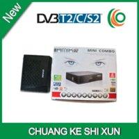 Nueva Singapur Starhub Box dvb S2 T2 C combo receptor amiko mini hd combo canales de apoyo mio con wifi gratuito