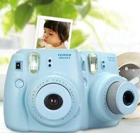Wholesale Fujifilm Instax Mini Instant Film Photo Camera Yellow Blue White Black Pink Purple Film Cameras