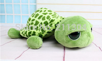 Wholesale Cute Animals Big Eyes - Free shipping ni cute big eyes turtle tortoise,stars loves,best gift to ci children kids girls boys girlfriends plush animal toy