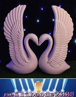 area table - NEW Romantic White Swan Plastic Roman Column Wedding Welcome Area Decoration Photo Booth Props Supplies MYY19