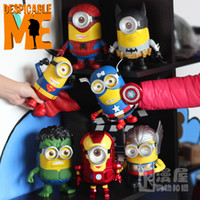 audible light - 2016 Dragon Ball Patrulla Canina Toys Juguetes for Audible Light Minions Cosplay The Avengers New Model cm Action Figure Toys
