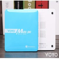 atom fanless - Fanless Voyo HDMI Mini PC Windows GB RAM GB ROM Intel Atom Z3735 Quad Core Media Player Green Pocket PC WiFi Bluetooth