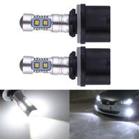 achat en gros de feux de conduite automobile hid-PW24W 10SMD 10W HID Blanc 880 H27 PG13 899 890 pour CREE Projecteur Ampoules à LED pour Auto Feux de brouillard de voiture Conduite Daytime Running lampe