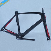Wholesale Most popular selling carbon road frame original design carbon road bike frame all paitings can available carbon fiber road frame
