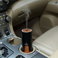 air impeller - Mini ml Car Air Humidifier Difusor De Aroma Diffuser USB Ultrasonic Humidifier Essential Oil Diffuser Mist Maker Fogger