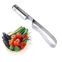 best apple slicer - Durable Stainless Steel Carrot Apple Potato Fruit Peeler Razor Sharp Blade Zesters Grade Shredder Slicer best gift