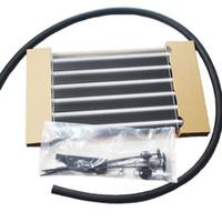 aluminum auto radiators - New arrived items HK5 UNIVERSAL ALUMINUM REMOTE TRANSMISSION OIL COOLER AUTO MANUAL RADIATOR CONVERTERoil car engine cooler kit reduce tempe