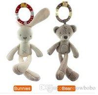 aeolian bells - Aeolian Bells Rabbit Bear Surface Plush Toys For Little Baby