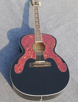 big body board - new black Acoustic Guitar big protect board red back veneer picea asperata Body Rosewood Fingerboard