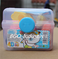 Wholesale Handmade mud diy color mud toys plasticine safe non toxic mud wheat colors