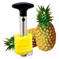 Wholesale 2016 Hot Sale Stainless Steel Fruit Pineapple Corer Slicers Peeler Parer Cutter Kitchen Easy Tool