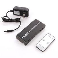 amplified hdmi cable - 2x2 HDMI True Matrix Switch Splitter Amplify Selector D P Remote in ou