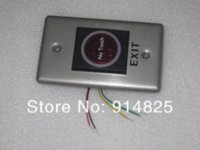 Wholesale No touch contactless stainless steel infrared Push Button Switch exit button switch equipment