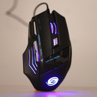 Wholesale Professional Gaming Mouse DPI Buttons D LED Optical USB Wired Computer Mouse Mice Gamer Mouse for Laptop PC Top Quality