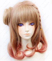 amnesia cosplay - 100 Brand New High Quality Fashion Picture full lace wigs gt gt Amnesia Heroine Short Braided Brown Cosplay Costume Wig