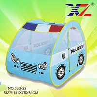 Wholesale New Arrival Police Children Tent Game Room House Beach Hot Toys One Generation Portable Tent Baby gift toys