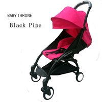 Wholesale Fashion Baby Strollers Many Color New Baby Folding Comfortable Stroller Carriage For Travel Girl Boy Baby Red Strollers