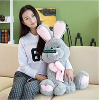 baby monkey items - Dorimytrader Top Item cm Giant Plush Soft Cartoon Rabbit Toy Stuffed Bunny Doll Nice Baby Gift DY61150