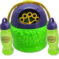 baby blowing bubbles - Electronic automatic bubble machine plastic foam blowing soap bubbles baby toys