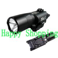 Wholesale Tactical X300 X300U Ultra High Output LED Lumens Flashlight Light Handguns Picatinny Weaver Universal Rails Rifle Scope