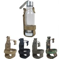 Wholesale Tactical Molle Water Bottle Holder Drinking Holder Belt Bottle Carrier Travel Kits Pouch
