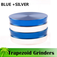 beautiful spices - Trapezoid Grinder mm Grinders Aluminium Alloy Piece Grinder Beautiful Colors High Quality Herb Spice Crusher Magnetic Top